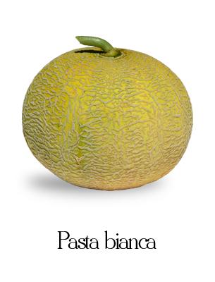 melone pasta bianca