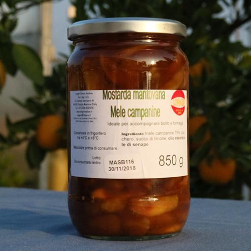 Mostarda mantovana mele campanine for Mostarda di mele mantovana